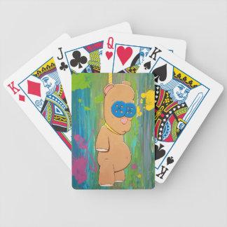 Hängende Bärn-Spielkarten Bicycle Spielkarten