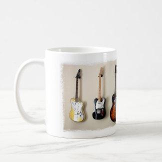 Hängende Gitarrenentwurfs-Tasse Kaffeetasse