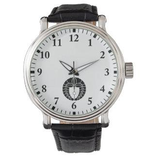 Hängende Glyzinien Armbanduhr