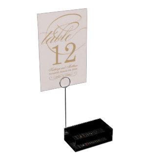 Hängender Gewürz-Tabellen-Kartenhalter Tischnummernhalter