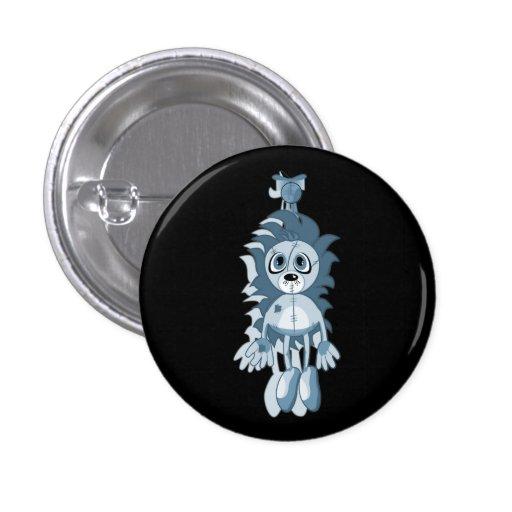 Hängendes Teddybär-Blau Anstecknadel