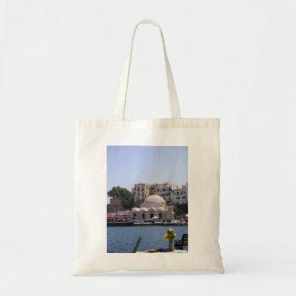 Hania, innerer Hafen Kretas Tragetaschen