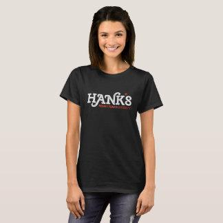 Hanks Honky Tonk (Frauen) Schwarzes T-Shirt