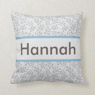 Hannah personalisiertes Kissen