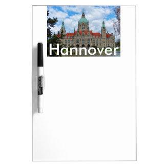 Hannover, neues Rathaus, Deutschland 002 Trockenlöschtafel