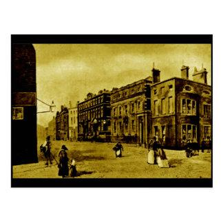 Hannover-Straße und das Bank of England, c1850s Postkarte