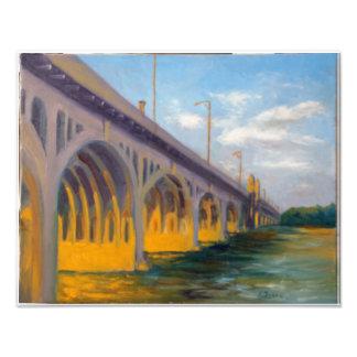 Hannover-Straßen-Brücke Fotodruck