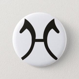 Hannoveraner Runder Button 5,7 Cm