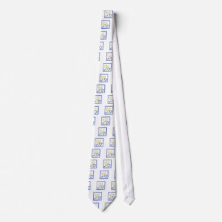 Hannukah Symbole Krawatte