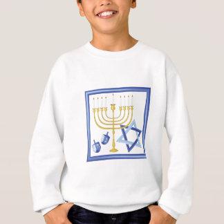 Hannukah Symbole Sweatshirt