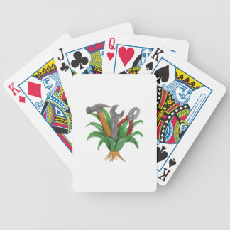 Hannya Maske Koi Bicycle Spielkarten