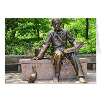 Hans Christian Andersen in Central Park Karte