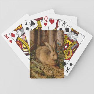 Hans Hoffmann ein Hase im Wald Spielkarten