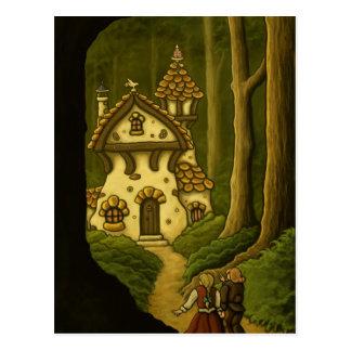 Hansel u. Gretel Märchenkunstpostkarte Postkarte