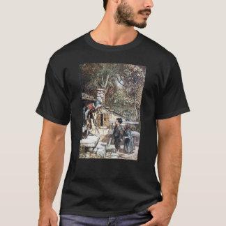 Hansel u. Grethel Treffen die Hexe T-Shirt