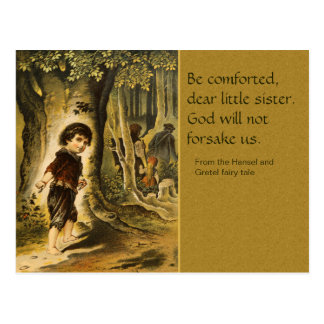 Hansel und Gretel CC0207 Märchen-Postkarte Postkarte