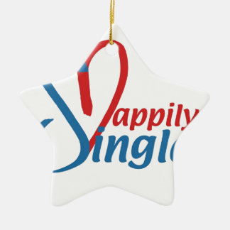 HappilySingle™ Keramik Ornament