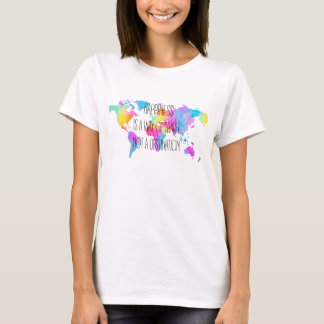 Happiness i zu way of travel T-Shirt