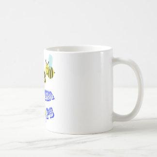 happy2bee Schießenbänder Kaffeetasse