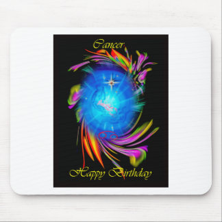 Happy Birthday Cancer Mousepads