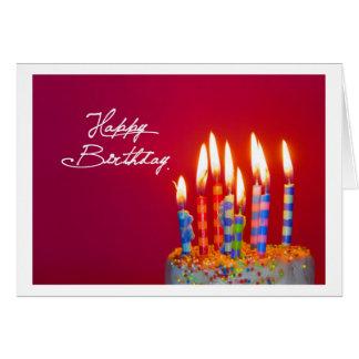 Happy Birthday Card Karte