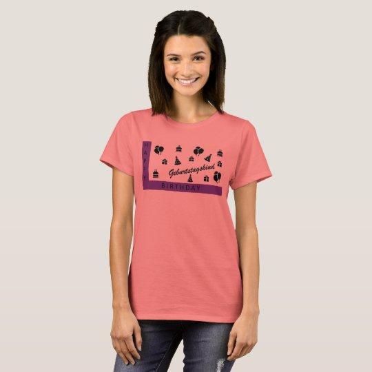 Happy Birthday / Geburtstagskind T-Shirt