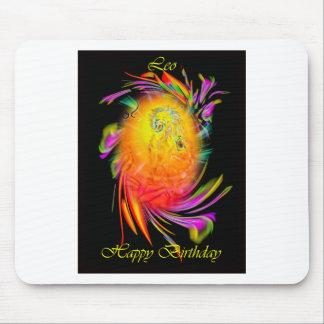 Happy Birthday Leo Mousepad