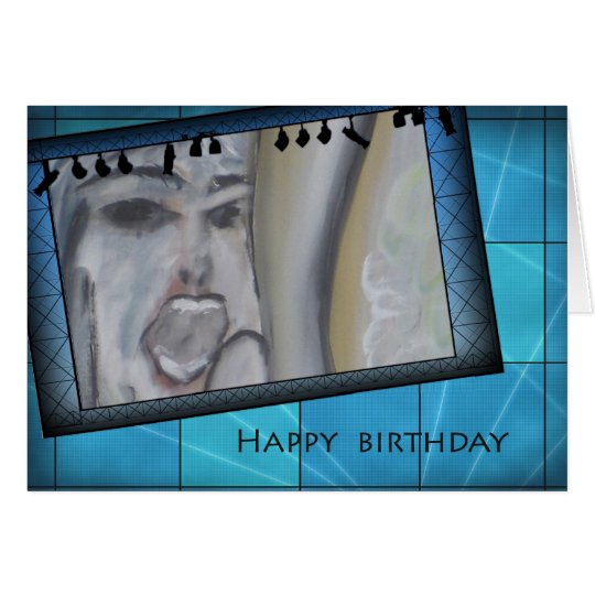 happy birthday _ Titel: 'only for me' Karte