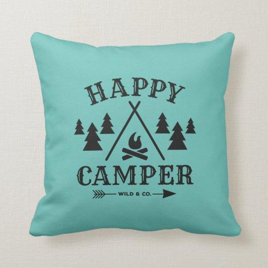 Happy Camper Kissen