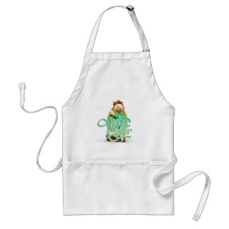 Happy Easter Toon Aprons