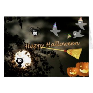 Happy Halloween Grußkarten