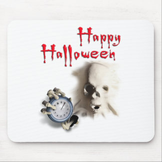 happy halloween witching hour breakout skeleton mousepads