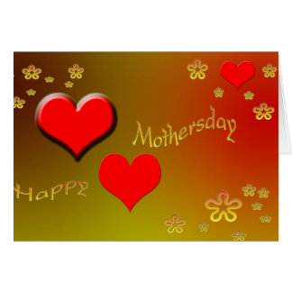 Happy Mothersday Greeting Cards