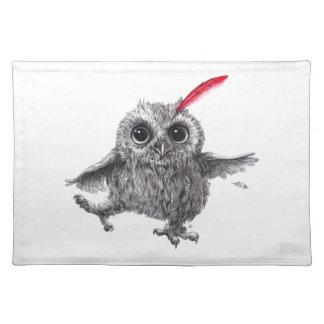 Happy Owl Tischset