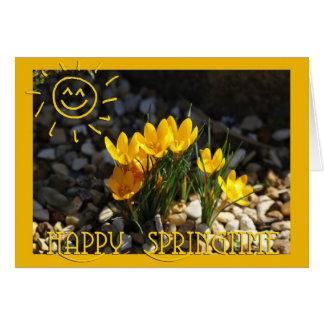 Happy Springtime Karten
