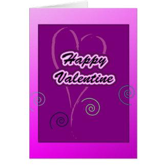 Happy Valentine Grußkarten