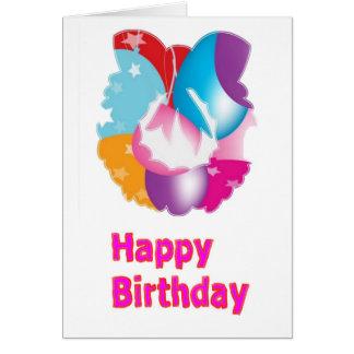 HappyBirth alles- Gute zum Geburtstagskript Karte