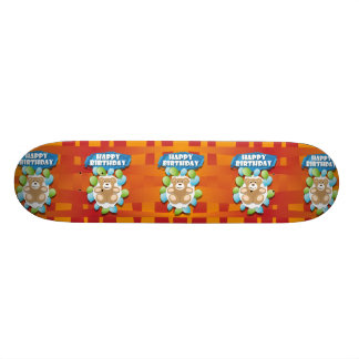 HappyBirthday03_04_B_weitQuer.ai Skateboard Brett