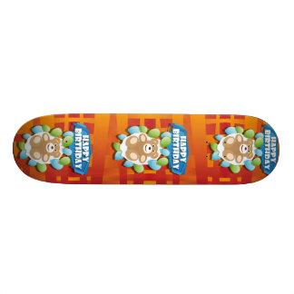 HappyBirthday03_05_B_weitHoch.ai 21,6 Cm Skateboard Deck