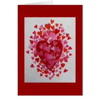 Hapy Valentinstag Karte