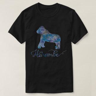 Harambe Aquarell-Galaxie-T-Stück T-Shirt