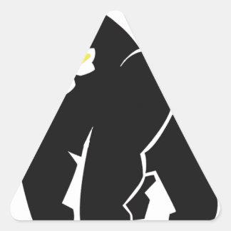 HARAMBE ERHOLUNG IM FRIEDENST - Shirt Dreieckiger Aufkleber