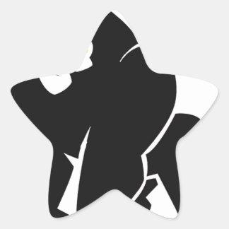 HARAMBE ERHOLUNG IM FRIEDENST - Shirt Stern-Aufkleber