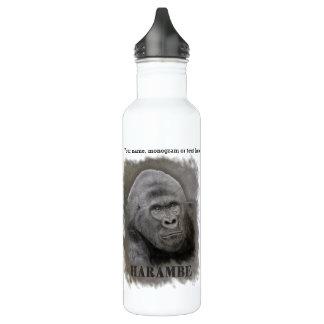 Harambe (Graphitzeichnen) Edelstahlflasche