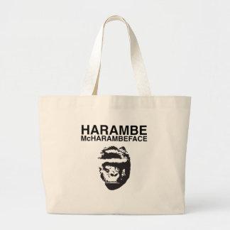 Harambe McHarambeface Jumbo Stoffbeutel