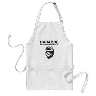 Harambe McHarambeface Schürze