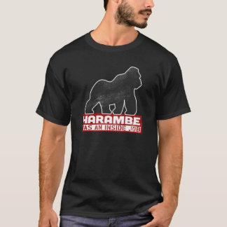 Harambe war ein Insider-Job-Gorilla 2016 T-Shirt