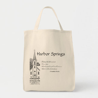 Harbor- Springslebensmittelgeschäft-Tasche Einkaufstasche