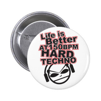 Hard-Techno-gavin-and-randys-music-taste-23744277- Runder Button 5,7 Cm