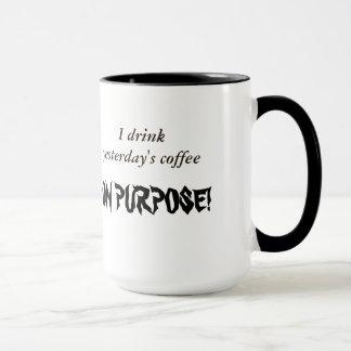 Hardcore-Kaffee-Trinker Tasse